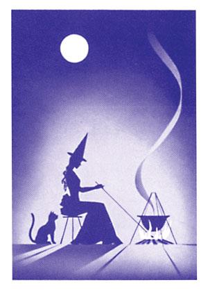 Gypsy Witch Card Backs
