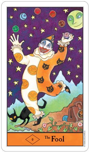Halloween Tarot Fool