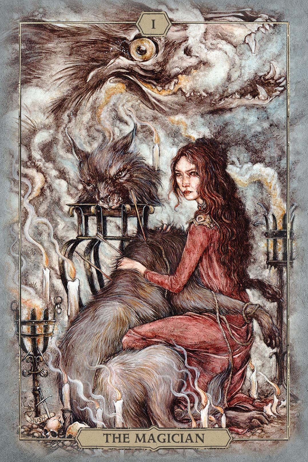 Hush Tarot Magician Card