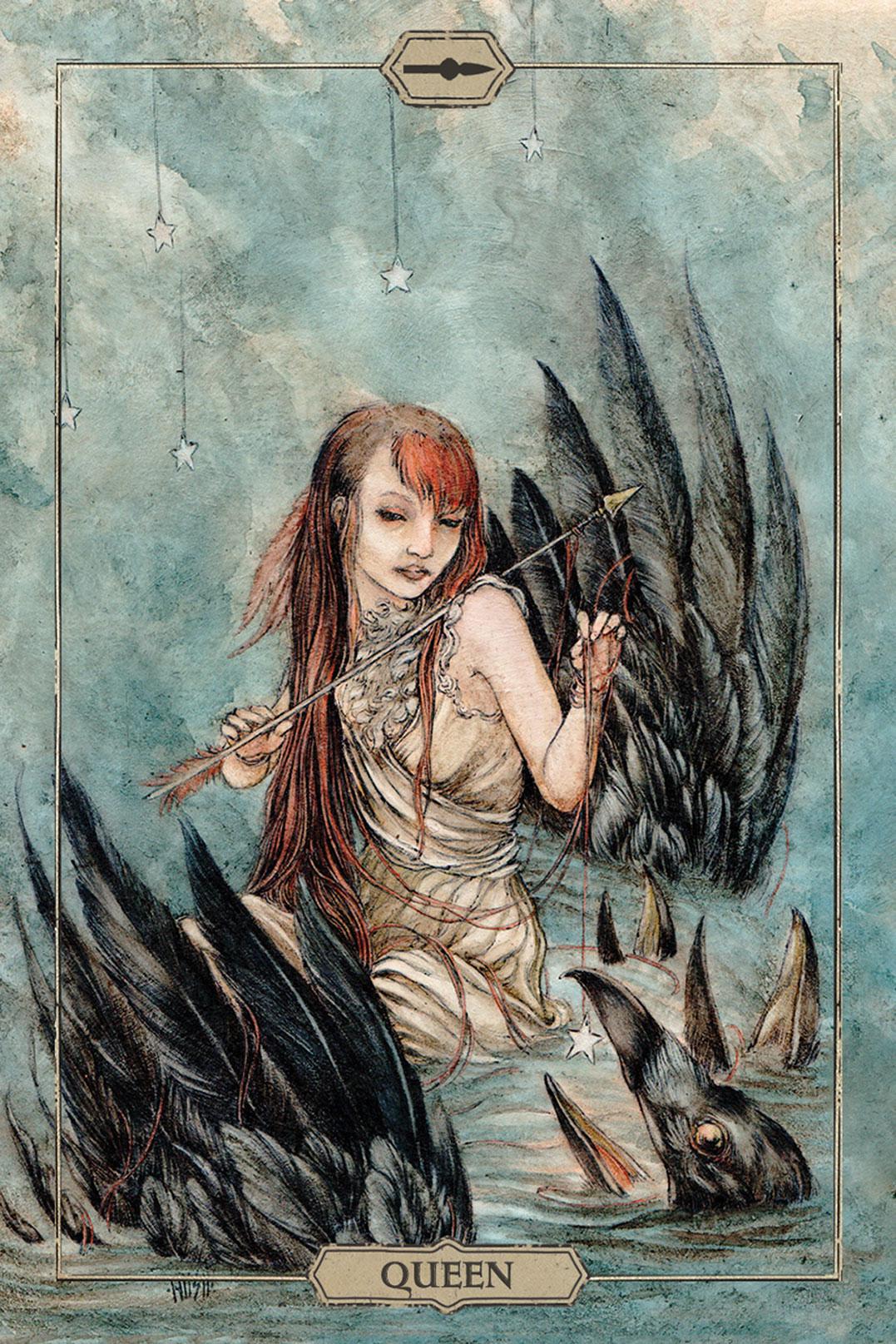 Hush Tarot Queen of Wands Card