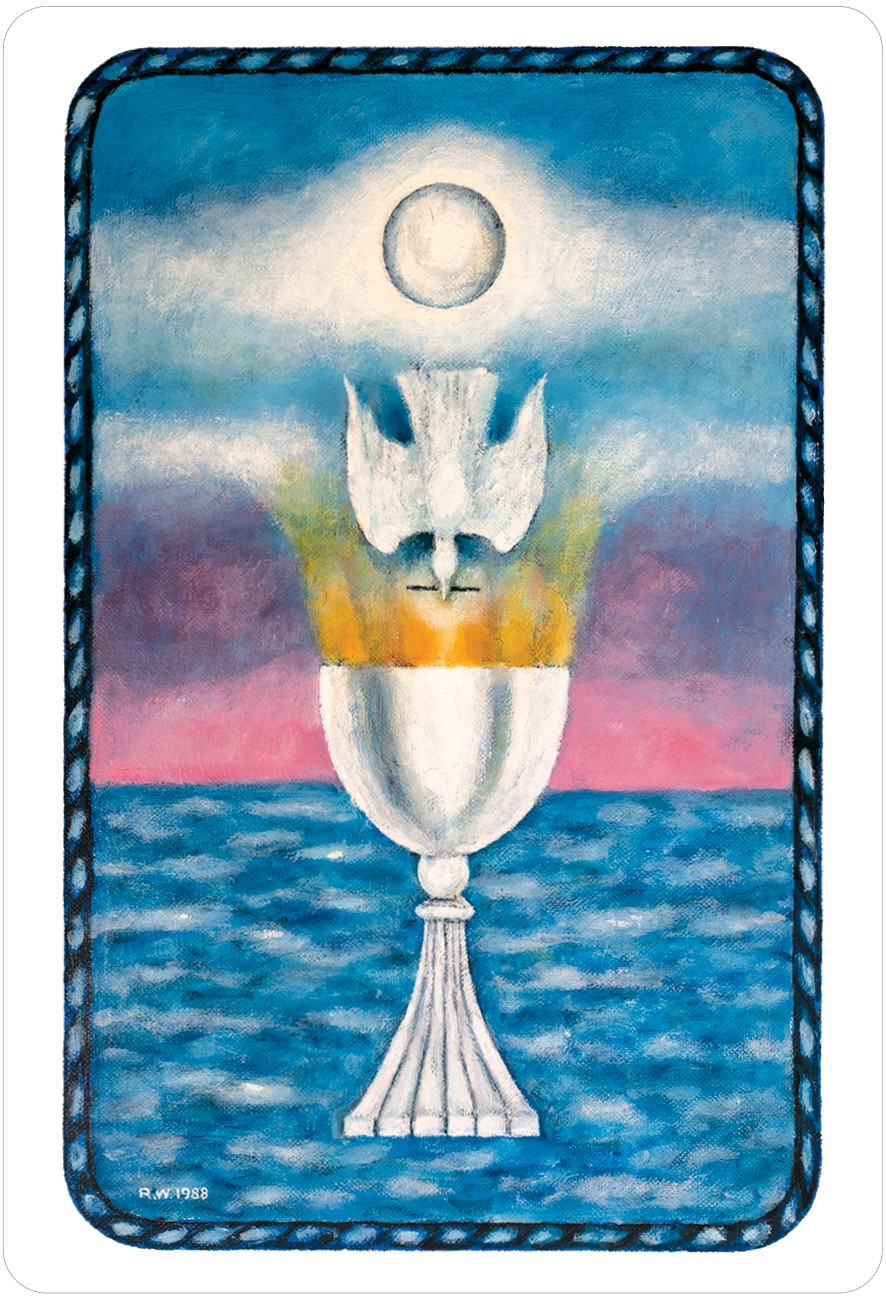 The Jungian Tarot Ace of Cups Card