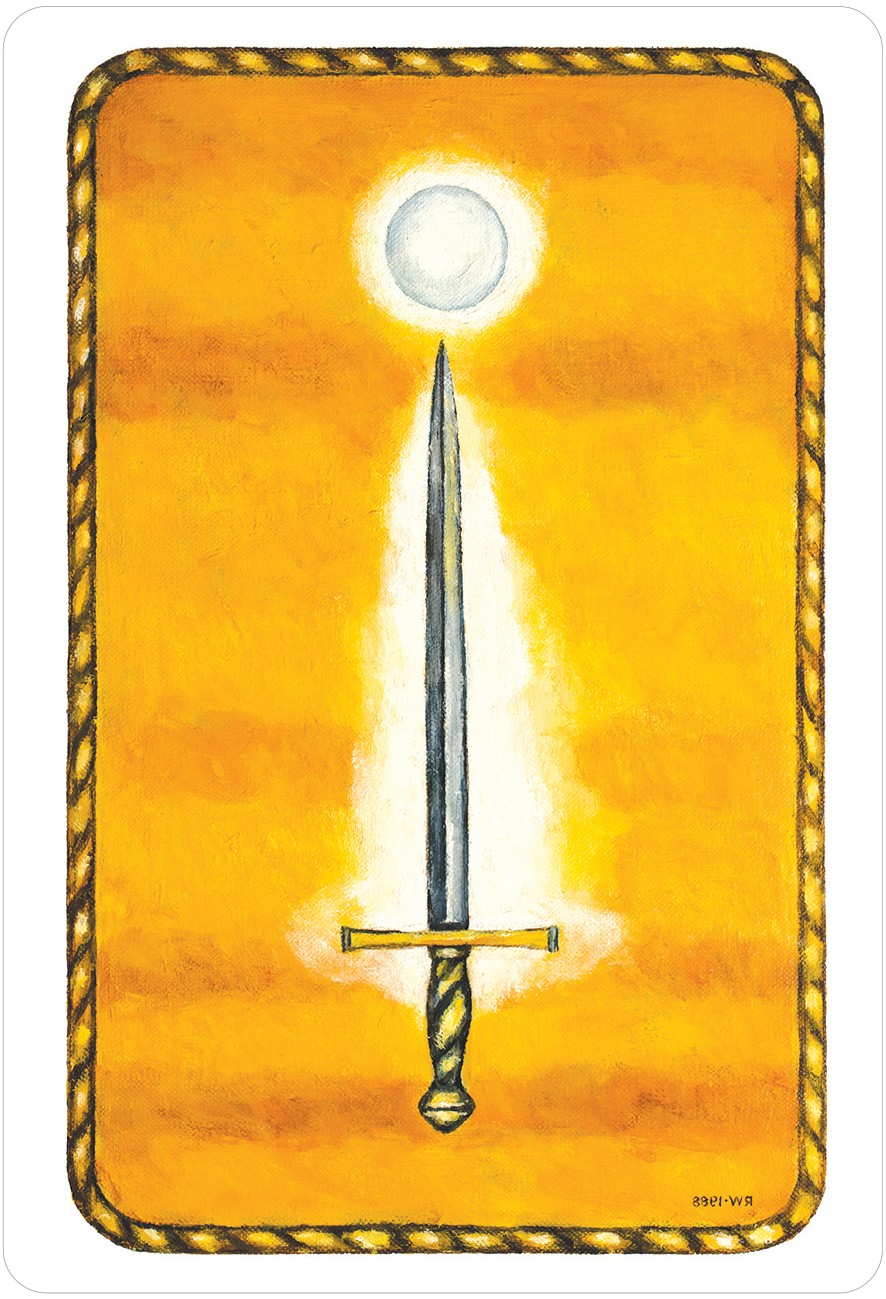 The Jungian Tarot Ace of Swords Card
