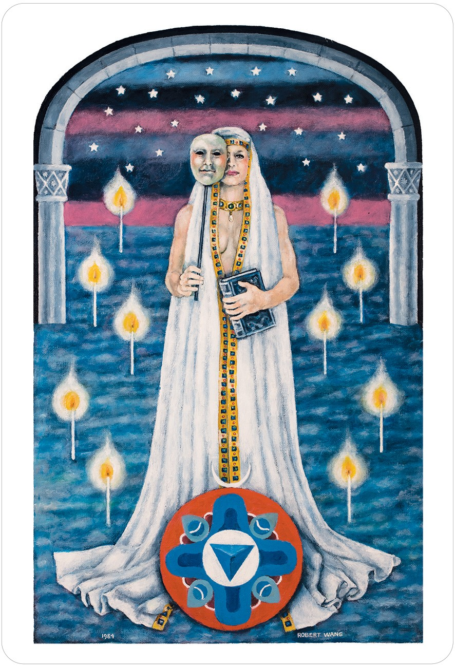 The Jungian Tarot High Priestess Card