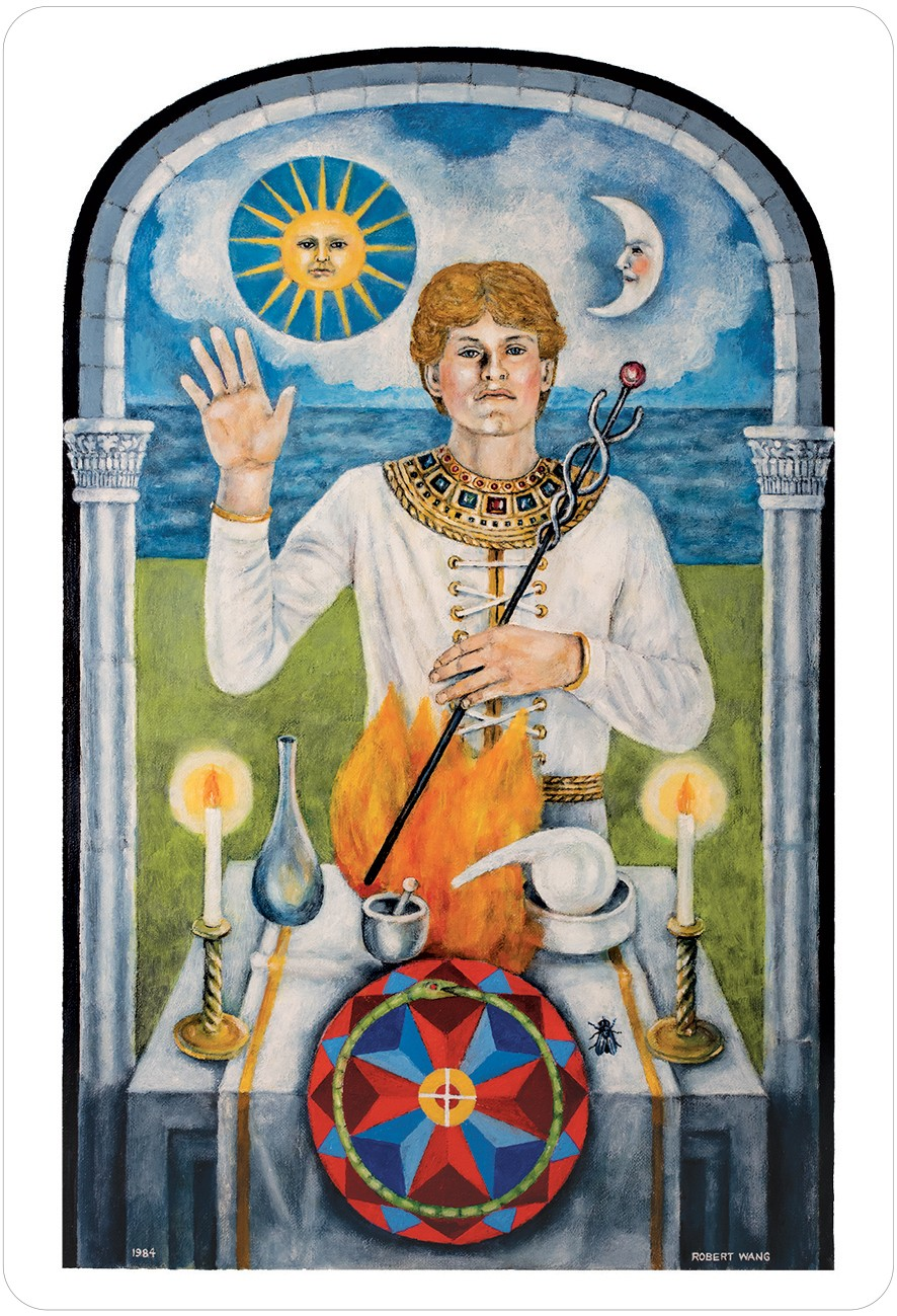 The Jungian Tarot Magician Card