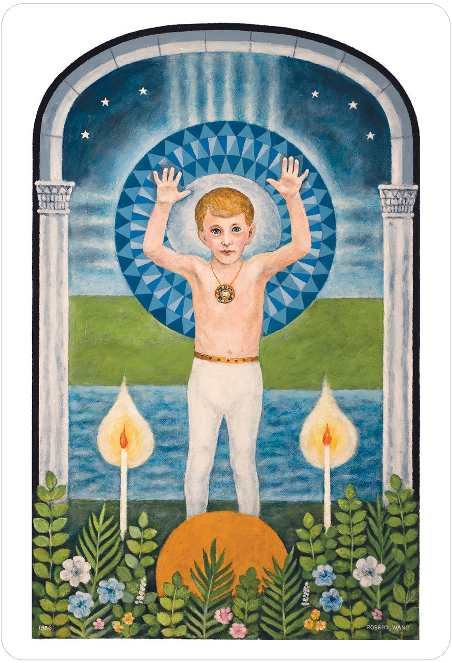 The Jungian Tarot Sun Card