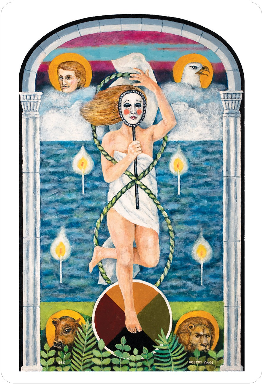 The Jungian Tarot World Card