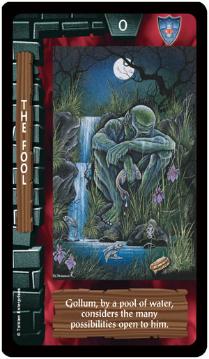 Lord of the Rings Tarot Fool Card