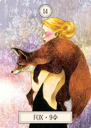 Dreaming Way Lenormand Fox Card