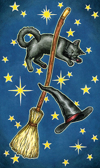 Everyday Witch Tarot Mini Card Back