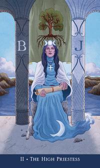 Llewellyn's Classic Mini Tarot High Priestess