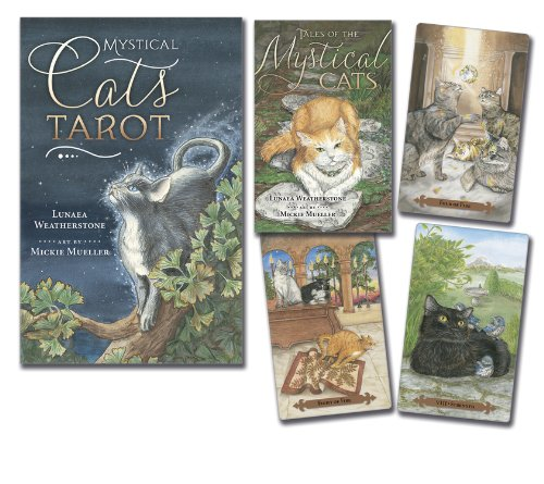 Mystical Cats Tarot Book
