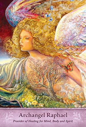 Mystical Wisdom Raphael Card