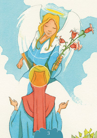 Angelic Oracle Gifting Angel Card