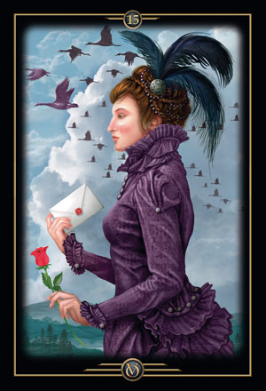 Oracle of Visions Farewell Card
