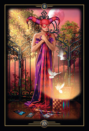 Oracle of Visions New Beginning Card