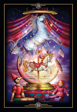 Oracle of Visions Freedom Card