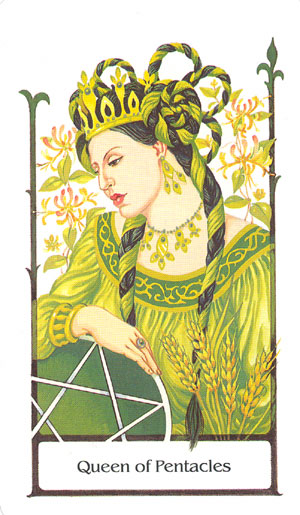 Tarot of the Old Path Queen of Pentacles