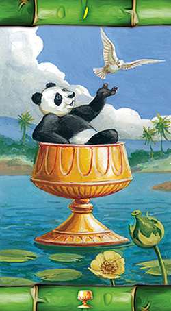 Panda Tarot Ace of Cups