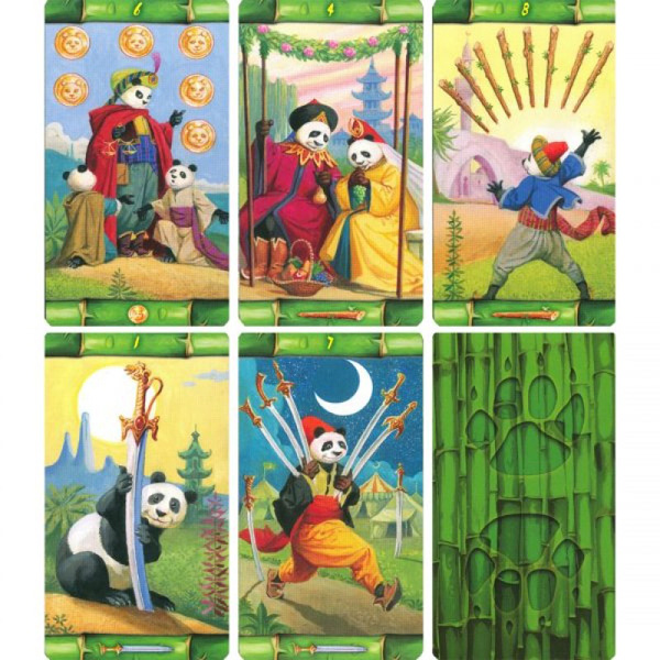 Panda Tarot Collage