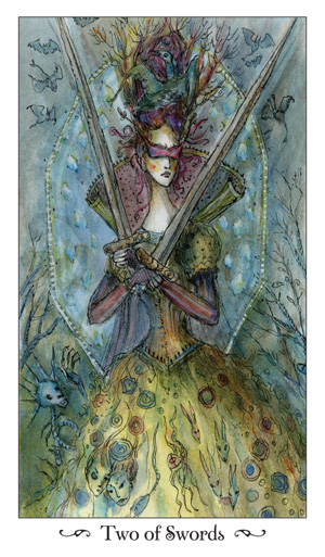 Paulina Tarot 2 of Swords