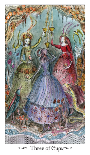 Paulina Tarot 3 of Cups