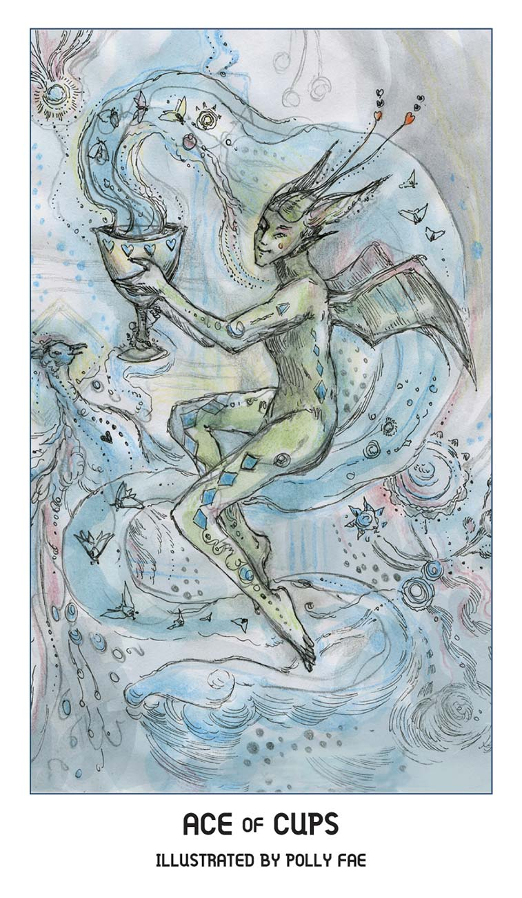 Pride Tarot Ace of Cups Card