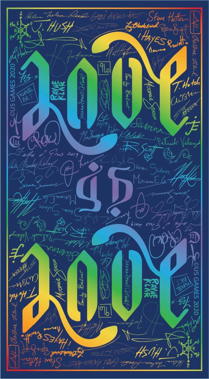 Pride Tarot Card Backs