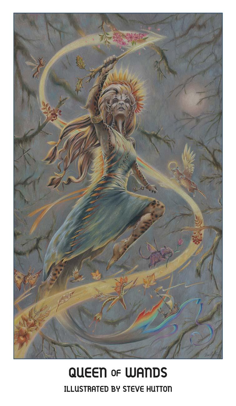 Pride Tarot Queen of Wands Card