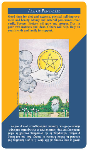 Quick & Easy Tarot Ace of Pentacles