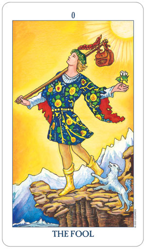 Radiant Rider Waite Tarot Fool