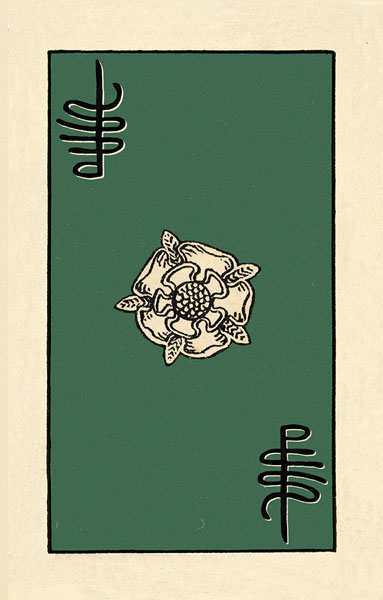 Borderless Rider Waite Tarot Card Backs