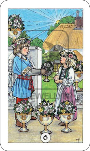 Robin Wood Tarot 6 of Cups