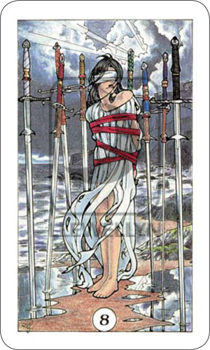 Robin Wood 8 of Swords