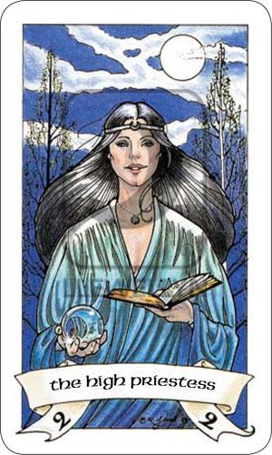 Robin Wood Tarot High Priestess