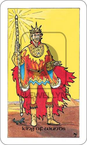 Robin Wood Tarot King of Wands