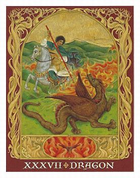 Sacred World Oracle Dragon Card