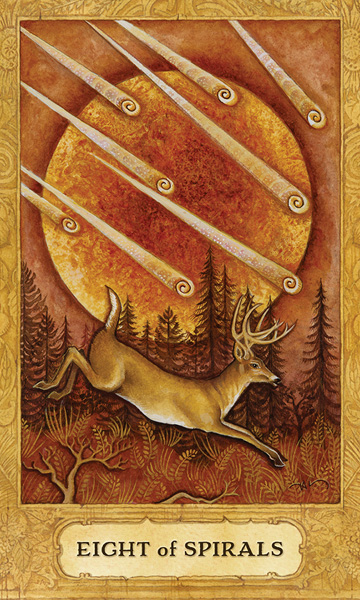 Chrysalis Tarot Eight of Wands Card