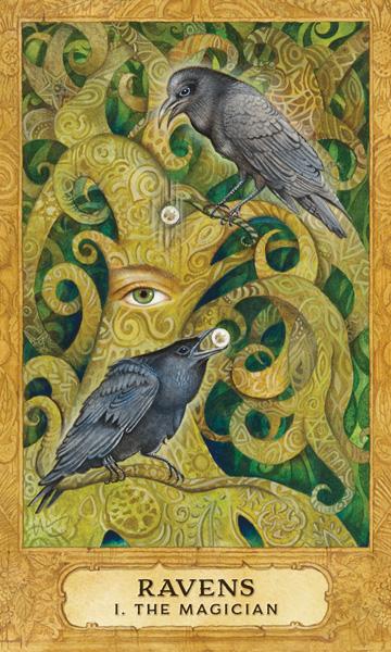 Chrysalis Tarot Magician Card