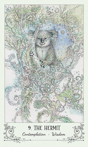 Spiritsong Tarot Hermit Card