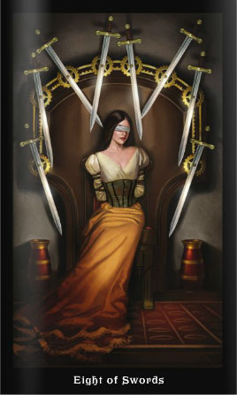 Steampunk 8 of Swords