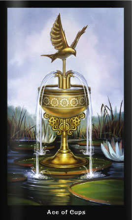 Steampunk Tarot Ace of Cups