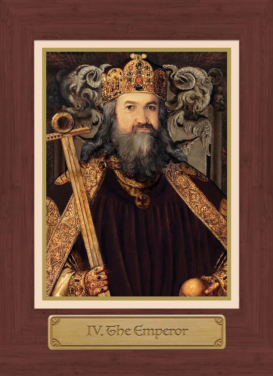 Touchstone Tarot Emperor Card