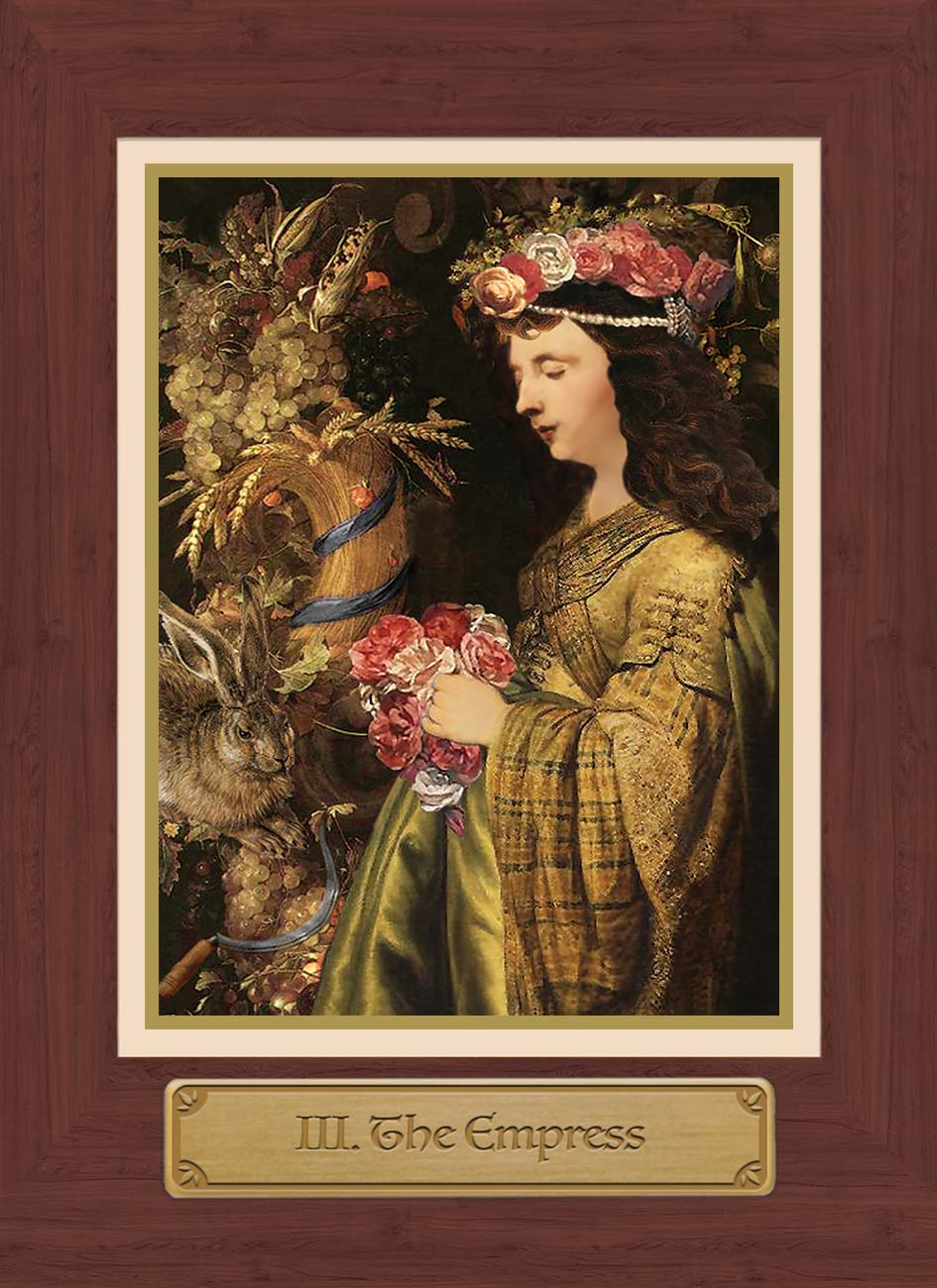 Touchstone Tarot Empress Card