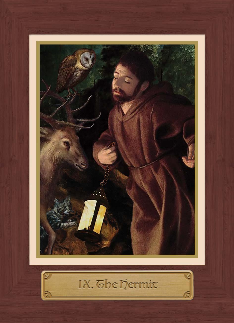 Touchstone Tarot Hermit Card