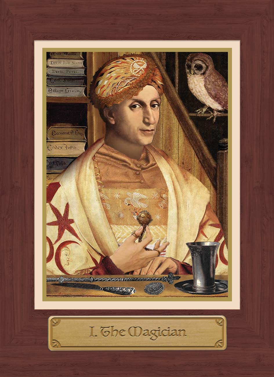 Touchstone Tarot Magician Card