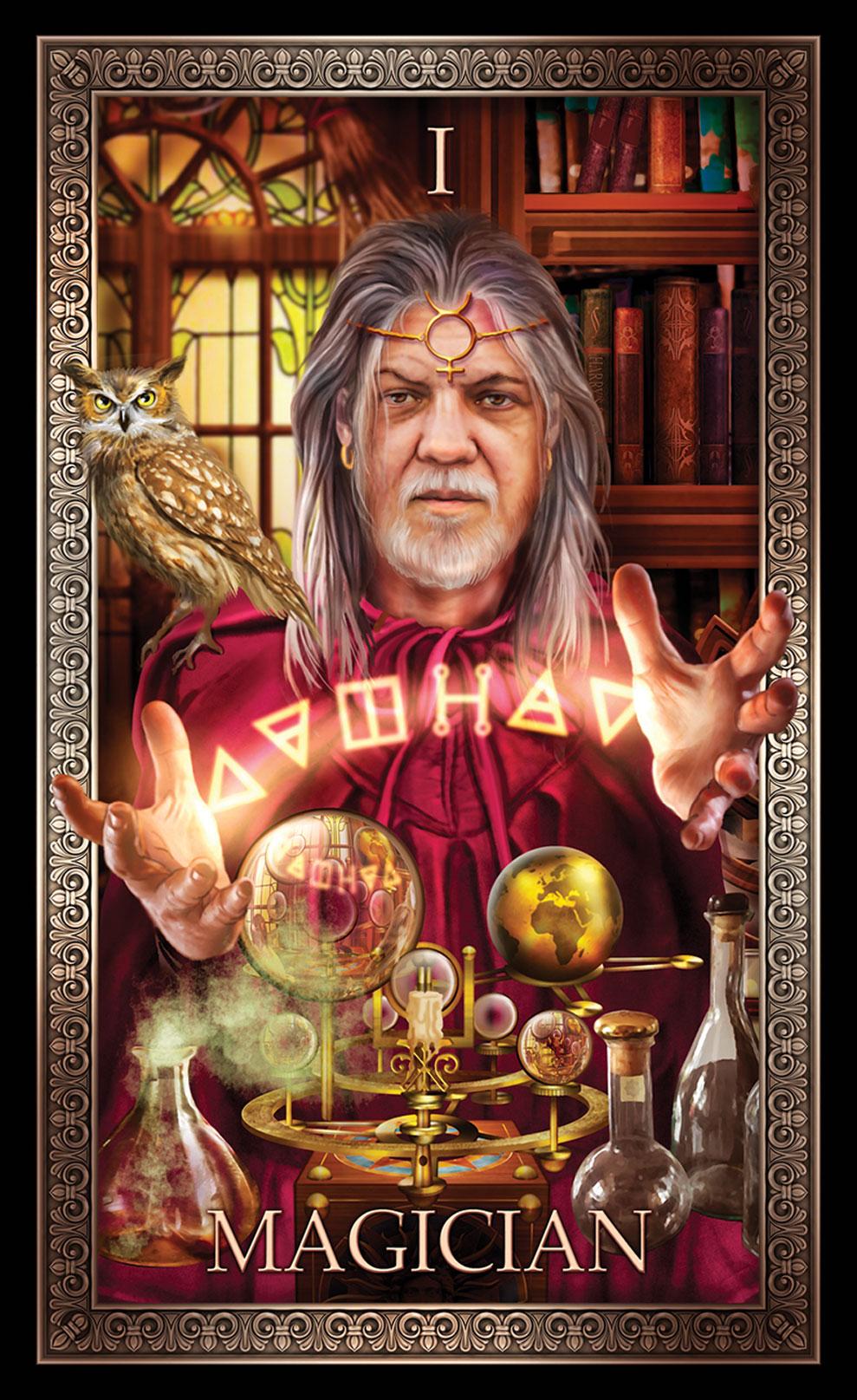 Tarot Grande Luxe Magician Card