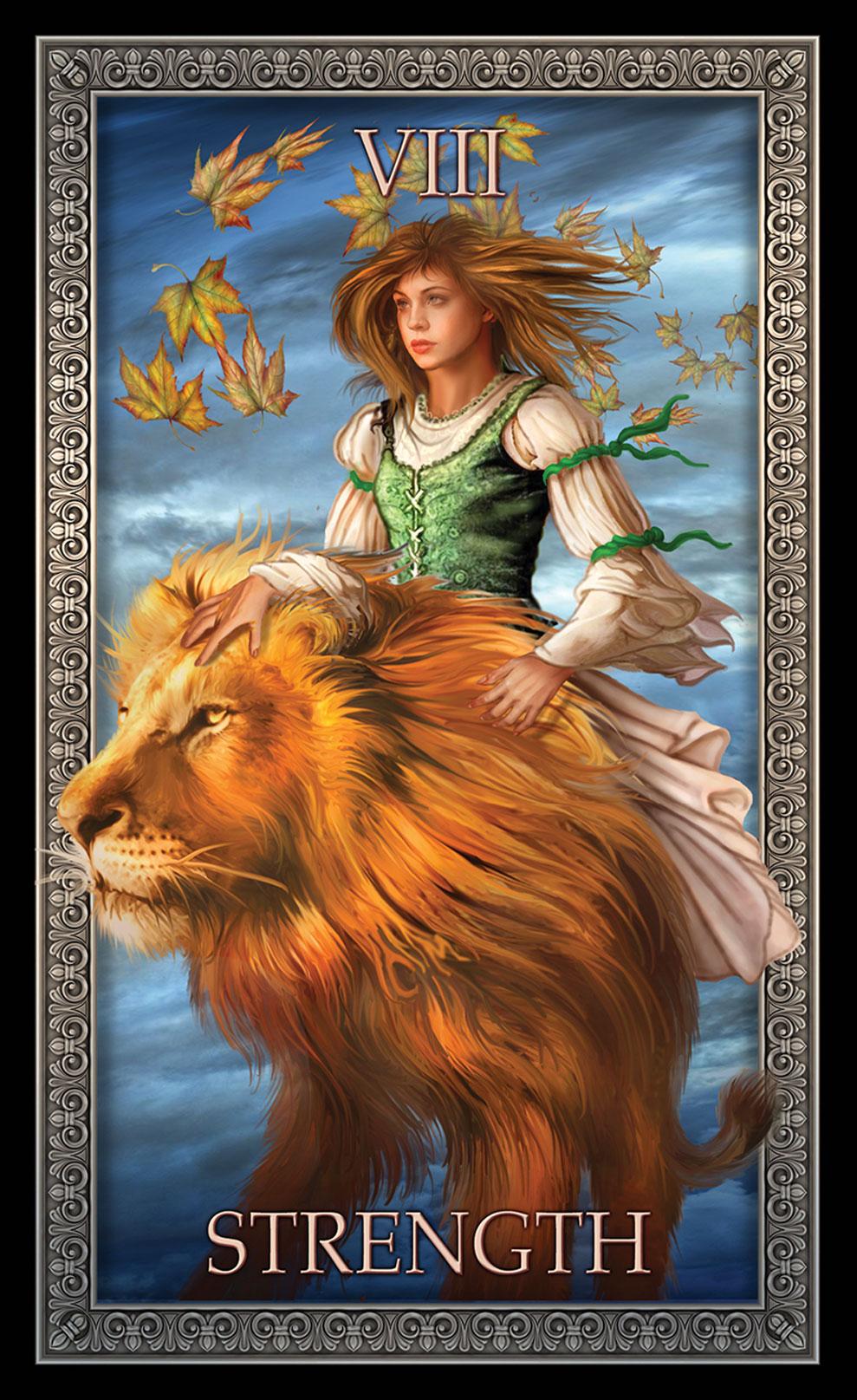 Tarot Grande Luxe Strength Card