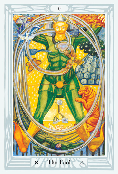 Thoth Tarot Fool Card