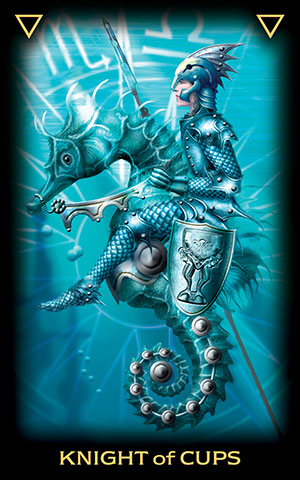 Tarot of Dreams Knight of Cups Card