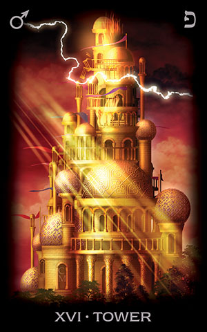 Tarot of Dreams Tower Card